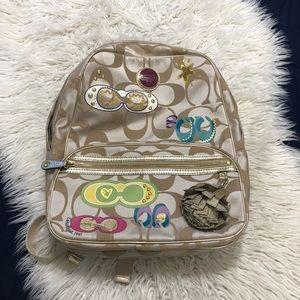 Coach stylish backpack